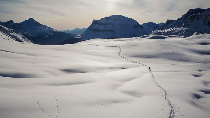 ExploreAlberta: Cirque Peak in Banff National Park