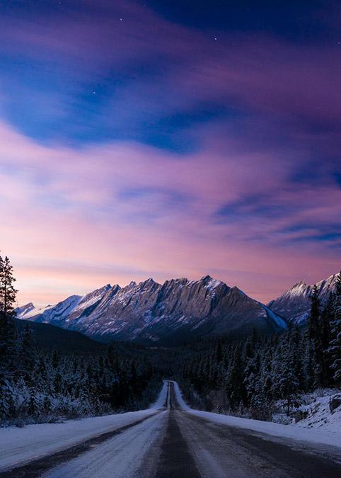Winter is Back in Alberta