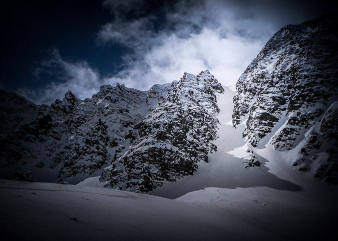 #ExploreAlberta: I finally skied Ullr's Couloir