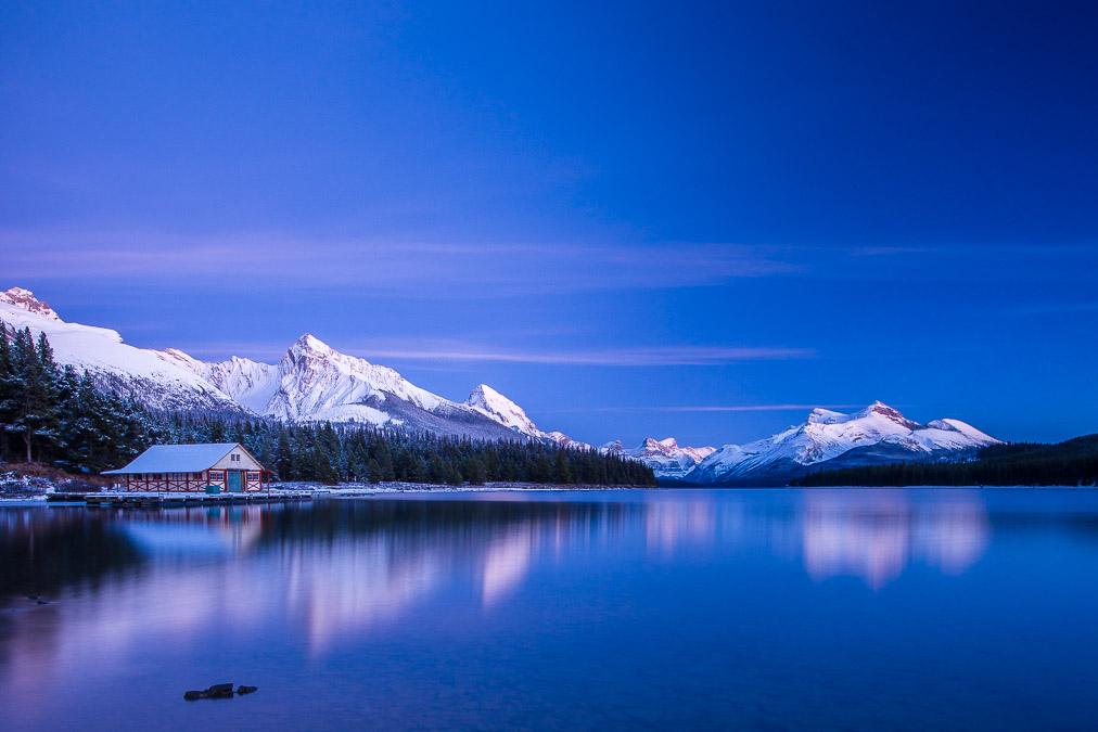 #MyJasper Print Sale: Maligne Lake Boat House