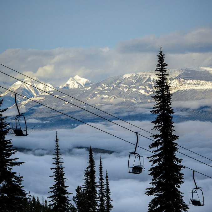 SKIBC gets above the clouds at Kicking Horse Mountain Resort
