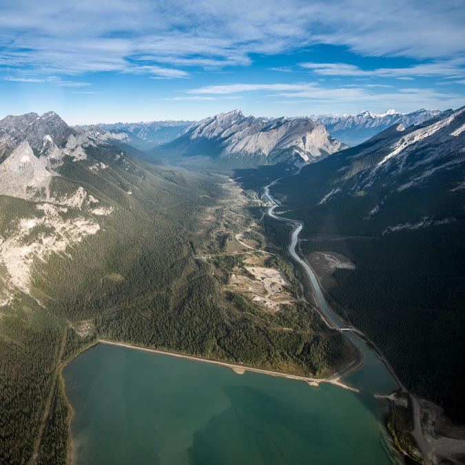 Travel Your Way: Fly across the Canadian Rockies in a helicopter.