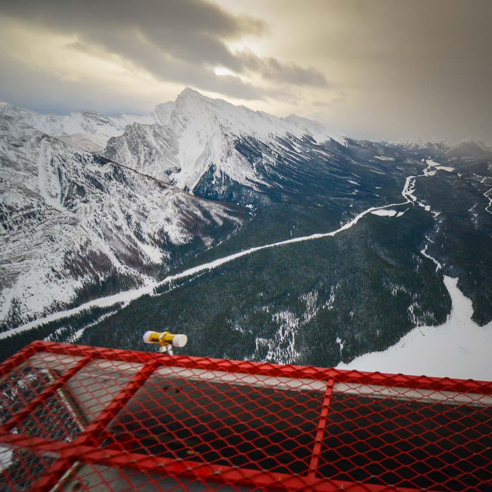 Explore Alberta Instagram Adventure gets airborne.