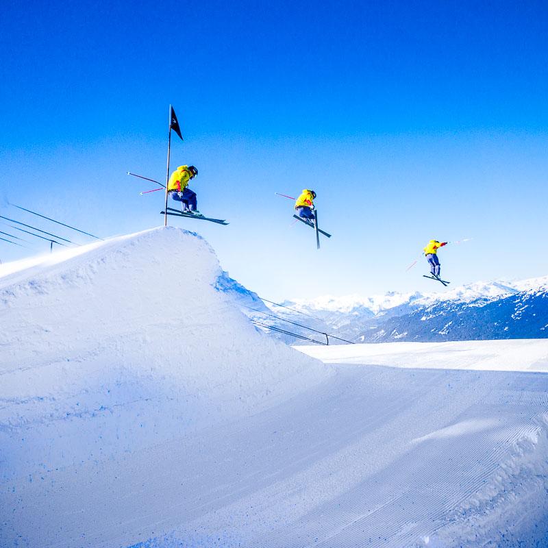 @WhistlerBlackcomb Instagram Takeover - The Alpine Canada Skier-X team training before Sochi!