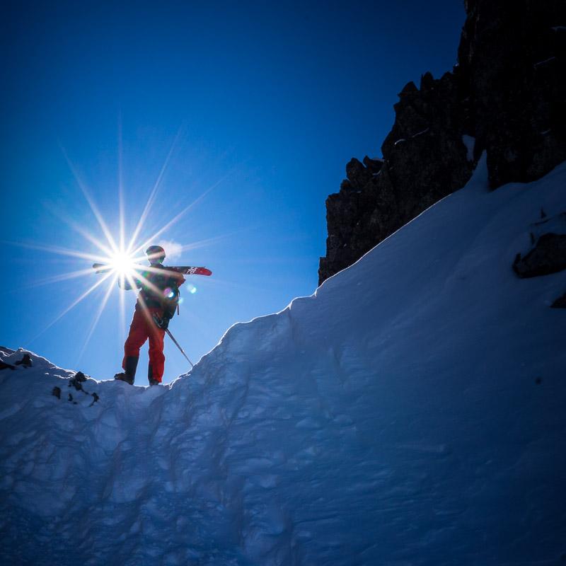 @WhistlerBlackcomb Instagram Takeover: Climbing to ski Husume.