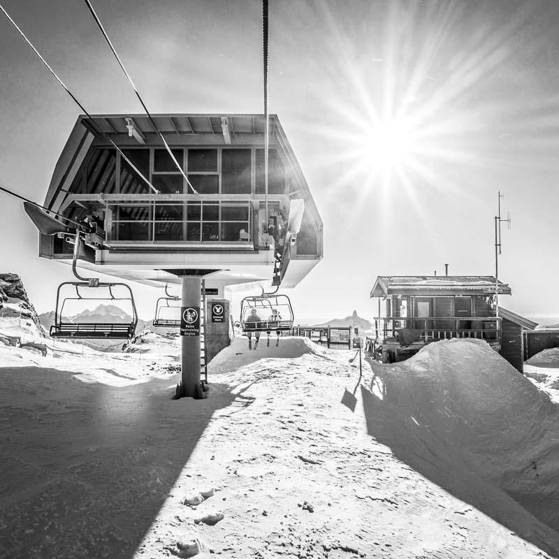 @WhistlerBlackcomb Instagram Takeover - The top of Peak Chair on Whistler Mountain.