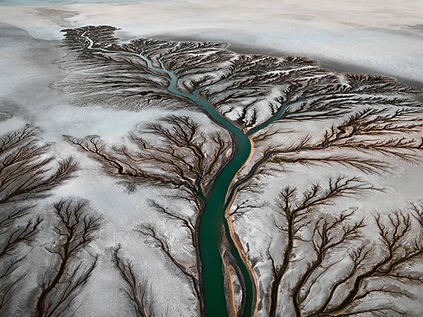 Watermark: The Colorado River Delta near San Felipe, Baja, Mexico by Edward Burtynsky