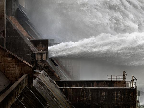 Watermark: The Xiaolandi Dam, Yellow River, Henan Province, China by Edward Burtynsky