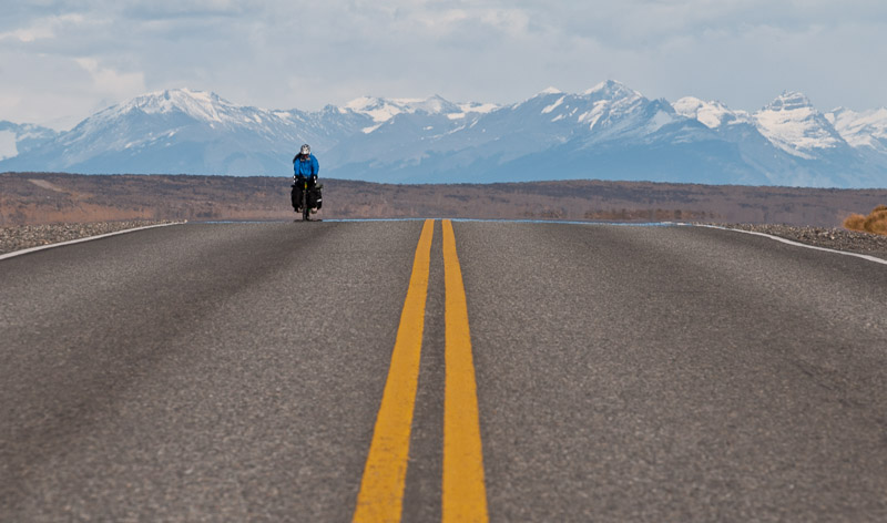 Adventure: Cycling the Patagonia Steppe came without training.