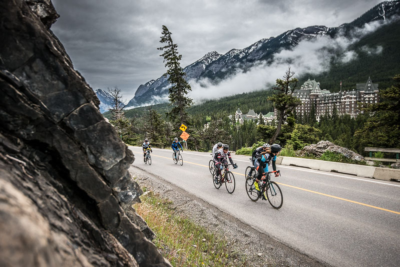 The Tunnel Mountain Road Race was the Banff Bike Fest' queen stage and it saw riders complete multiple laps on Tunnel Mountain.