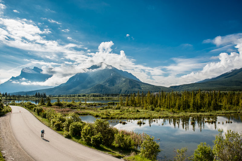 Mt Rundle just doing its thing, standing pominently in the Bow Valley. This is a landscape photographers dream location!