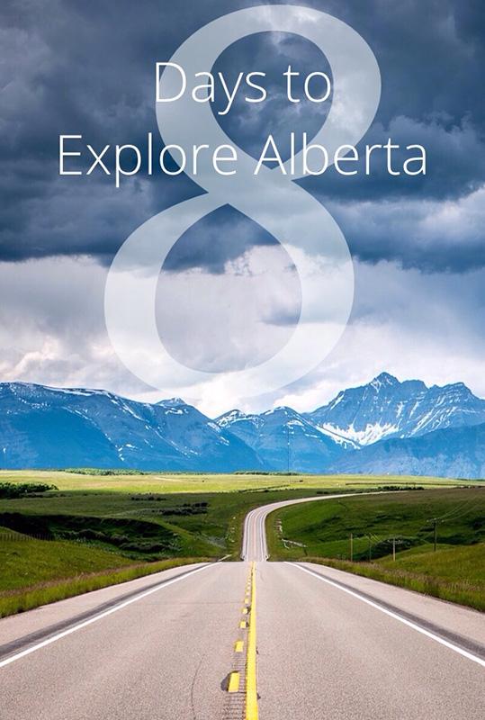8 Days to Explore Alberta