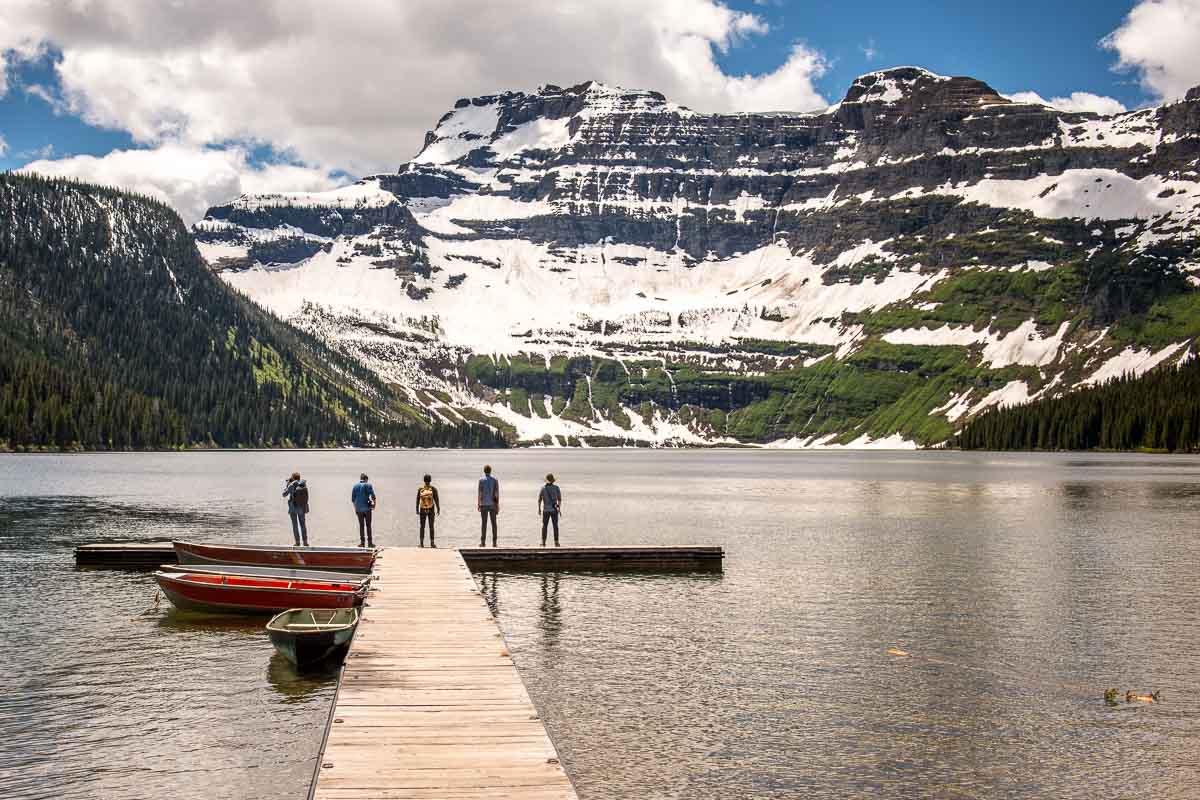 Cameron Lake, Waterton National Park, Alberta, Canada