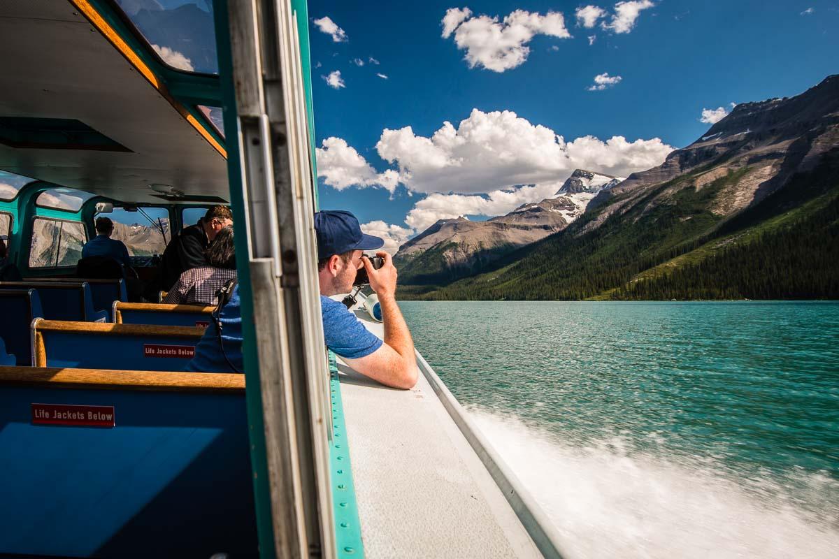 Maligne Lake Cruise isn't all about Spirit Island