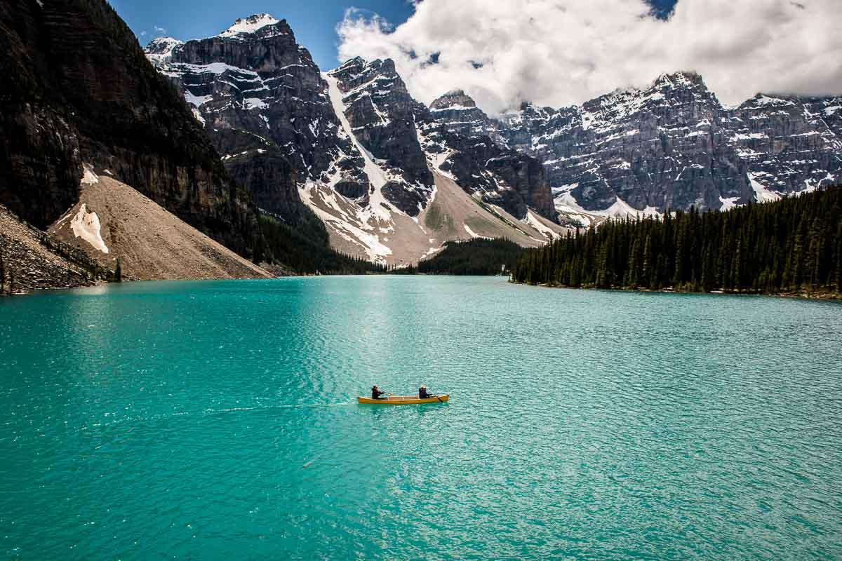 Moraine Lake Canoe