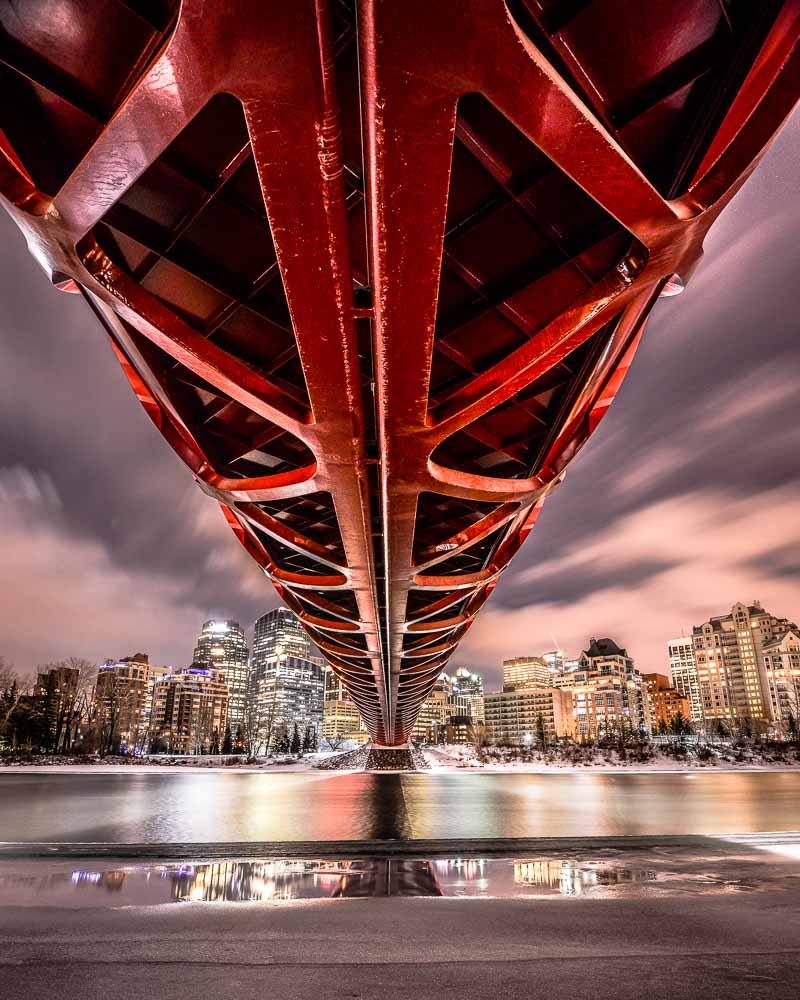 Brendansadventures.com critique: Peace Bridge in Calgary, Alberta