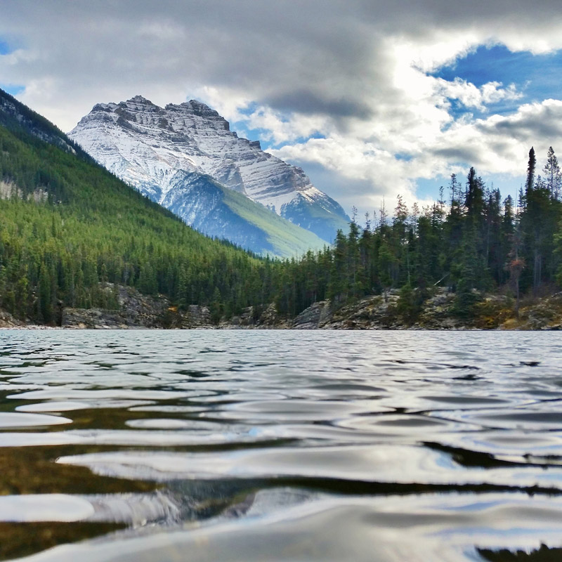 Photographing Horseshoe Lake with a Samsung Galaxy S5 Active