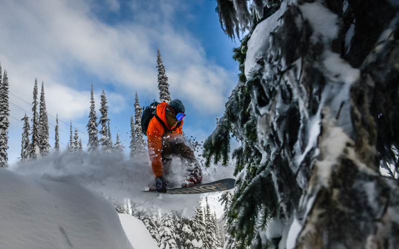 2014 Adventure Photography: To kickstart 2014, I hit British columbia's Powder Highway with snowboarders Jeff Keenan and Leanne Pelosi.