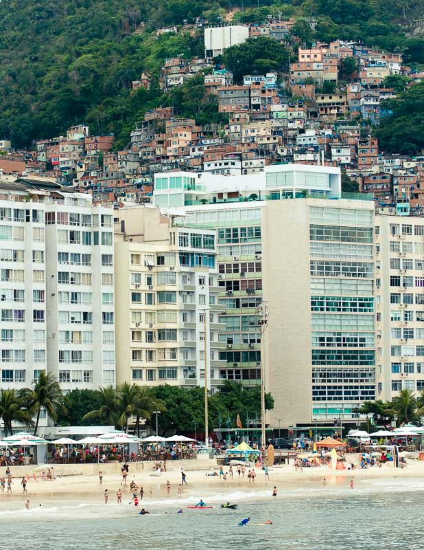Favelas in Rio de Janeiro are named after plants