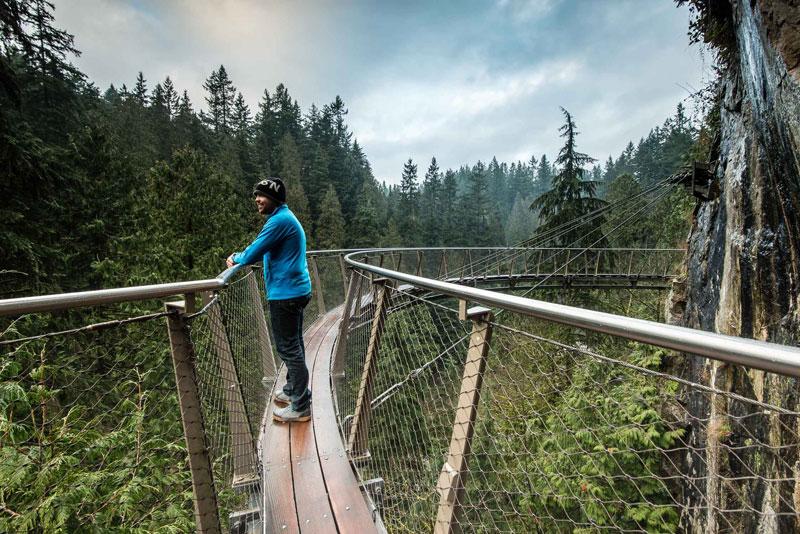 The Edge Walk in British Columbia