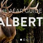 Afar.com header for the Guide to Alberta
