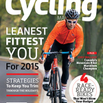 Canadian Cycling Magazine Cover featuring Jeff Bartlett's writing