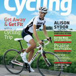 Canadian Cycling Magazine Cover featuring Alison Sydor