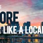 Explore Canada Like a Local header on a skyline shot of Toronto