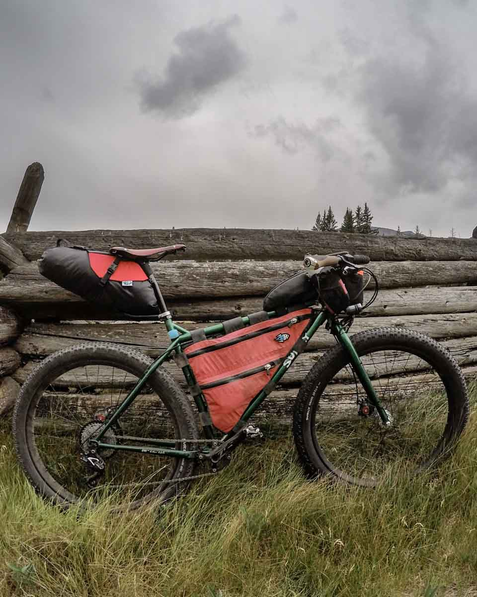 My surly krampus that i'll be riding for the Alberta Rockies 700