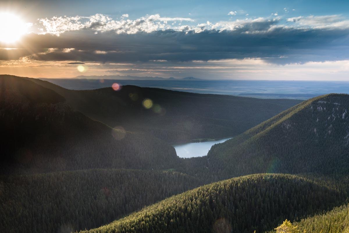 Crystal Lake stop during my montana road trip