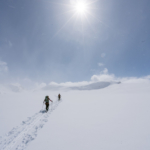 Walking on the Wapta Icefield for the first time, after six years in the Canadian Rockies