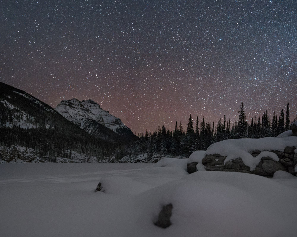Our Jasper Dark Sky photography workshop takes in the best of Jasper National Park