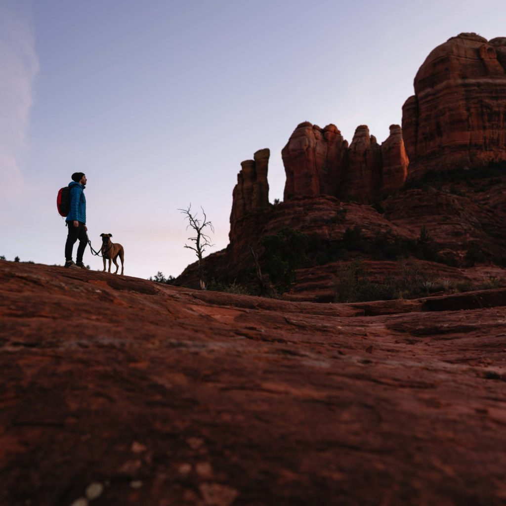 Sedona, Arizona, is one of five locations featured in Chasing Darkness, a collaborative project I filmed with Jack Fusco
